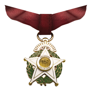 OHOF medal with full ribbon flattened 9.2018.png