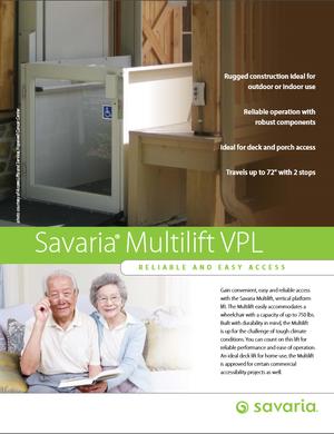 Savaria Multilift VPL Brochure