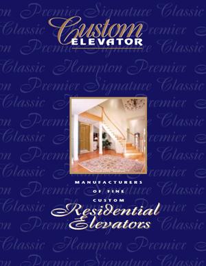 Custom Elevator Residential Elevators Brochure