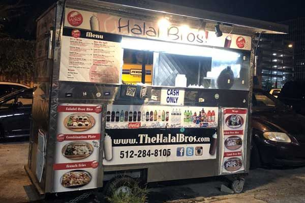 Halal Food Truck in Downtown Austin