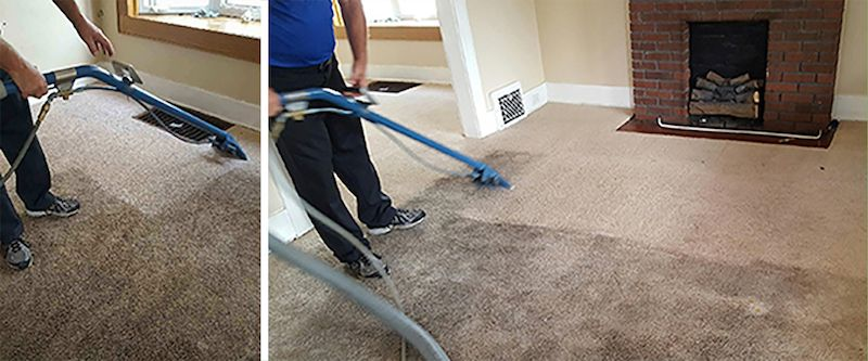 Proven method of carpet cleaning