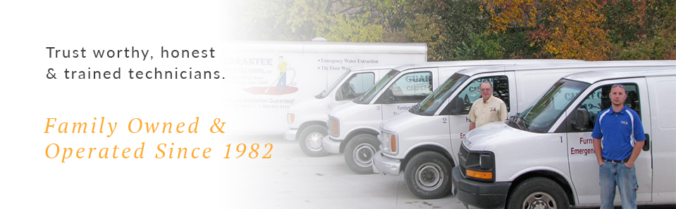 Trust worthy, honest and trained carpet cleaners