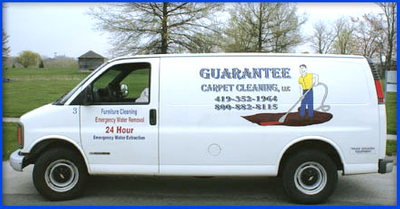 Carpet Cleaning Service Vehicles