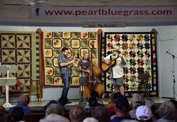 performing at Pearl, October 2017