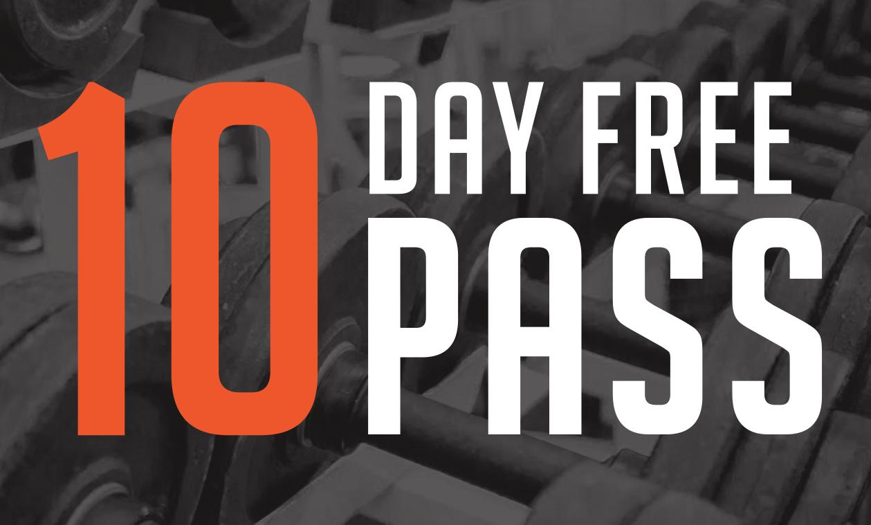 10 Day Free Pass