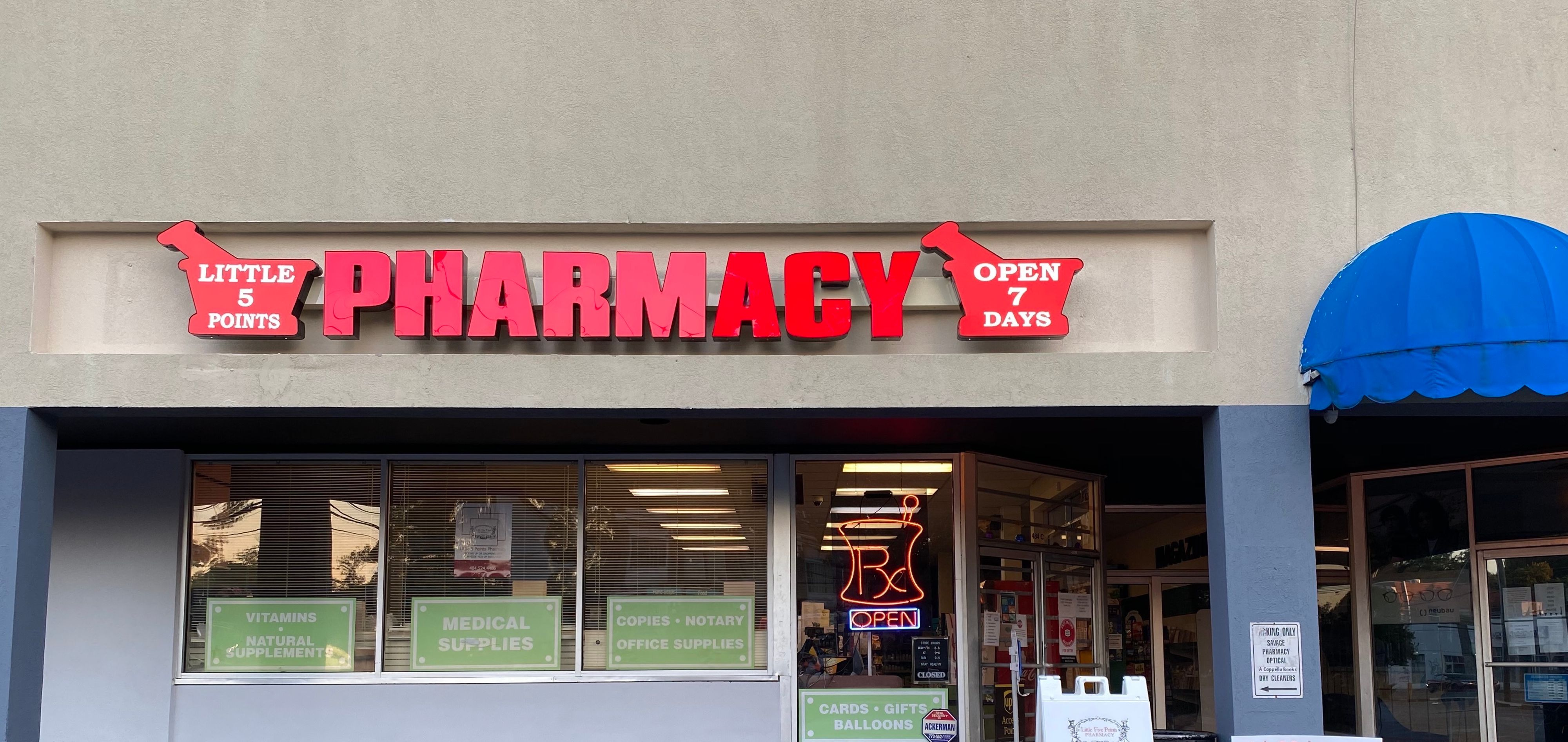 Welcome to Little 5 Points Pharmacy!