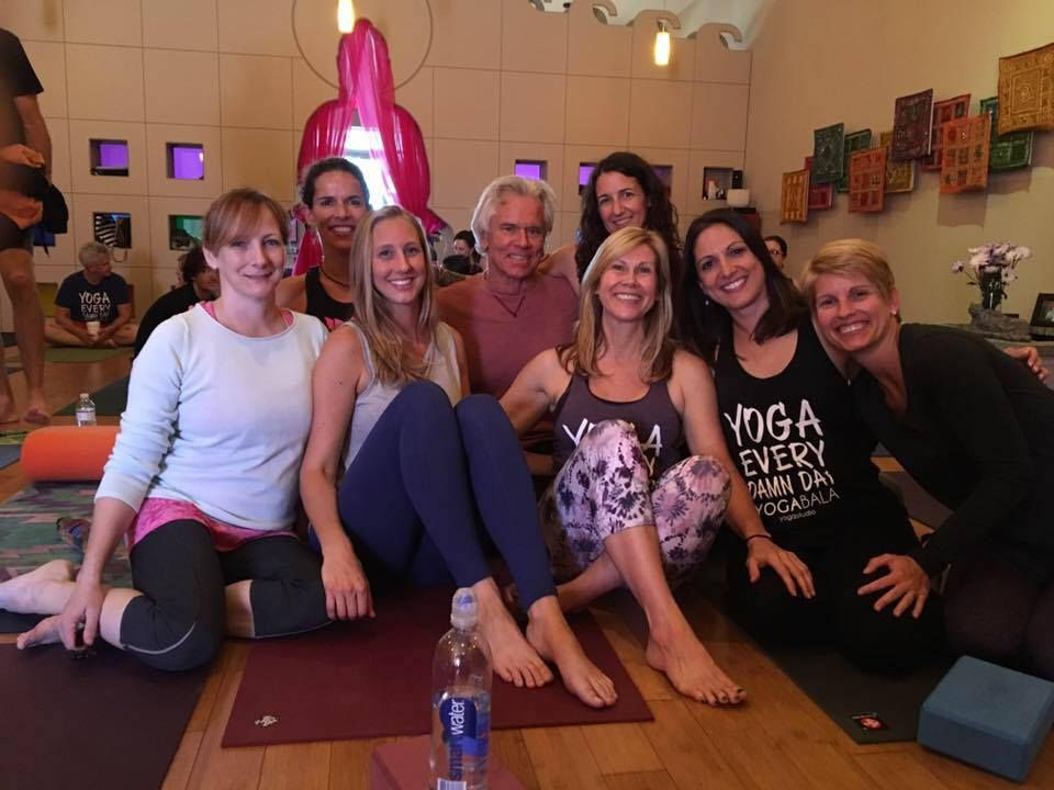 Tim Miller at Yoga Bala