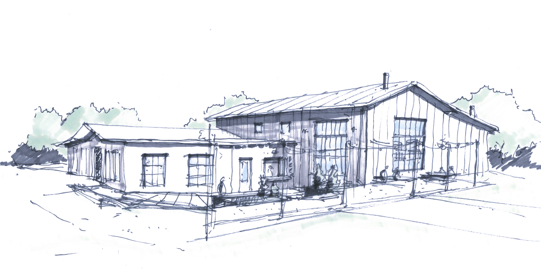 Ghost Note Brewing Building Concept Sketch.png