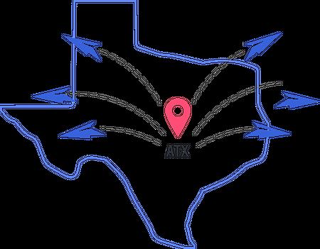 Austin, Texas Graphic