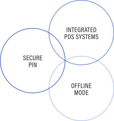 Secure Pin, Integrated Systems, Offline Mode Circles