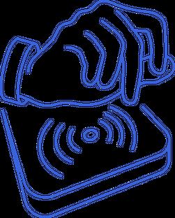RFID Scanning Graphic