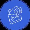 RFID Access Control Icon