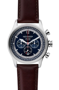 Jack Mason Nautical Chronograph Leather Watch.jpg