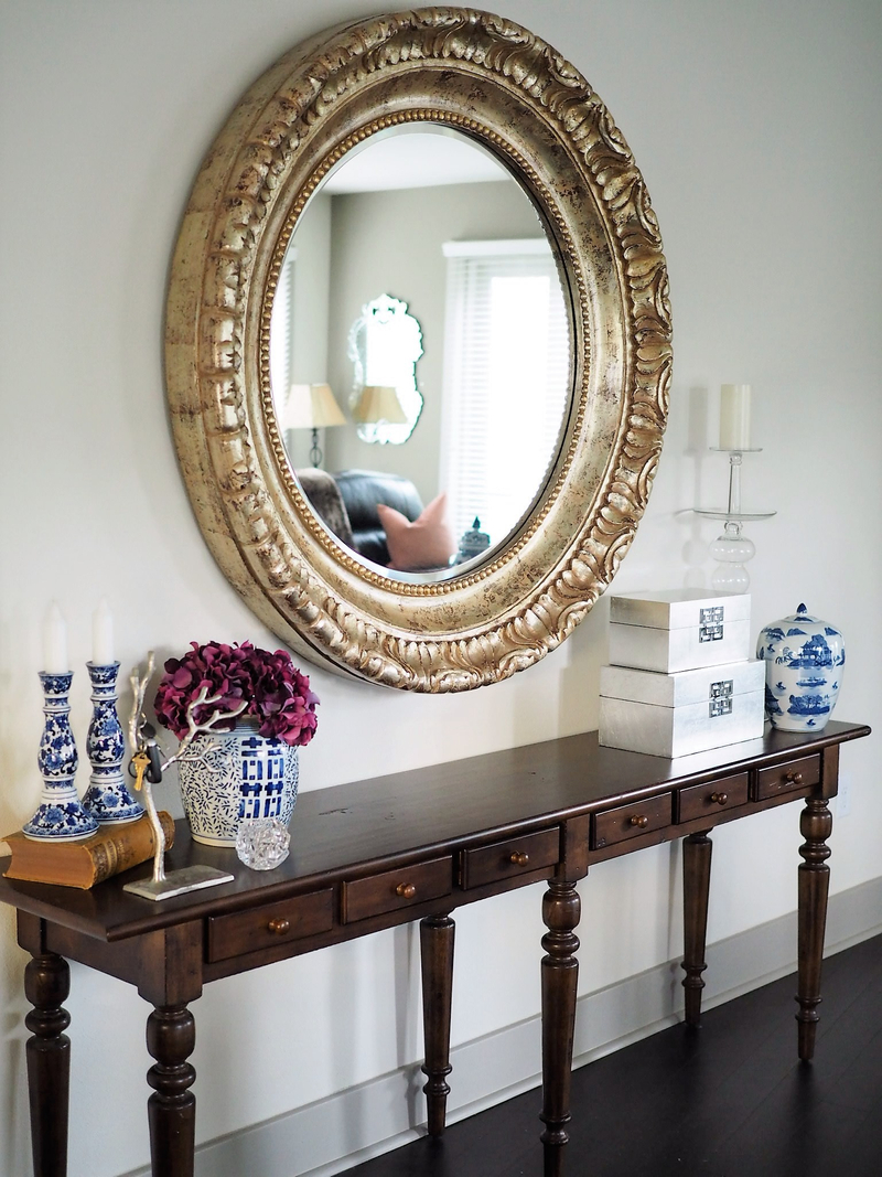 Chinoiserie, Candlesticks, and Mirrors