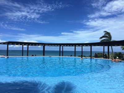 Four Seasons Resort Punta Mita infinity edge pool