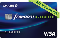 Chase Freedom Unlimited | The Best Credit Cards for Beginners