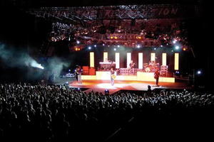 Outdoor Concert Lighting System and Truss