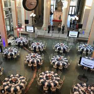 Gala Set up at the Missouri History Museum