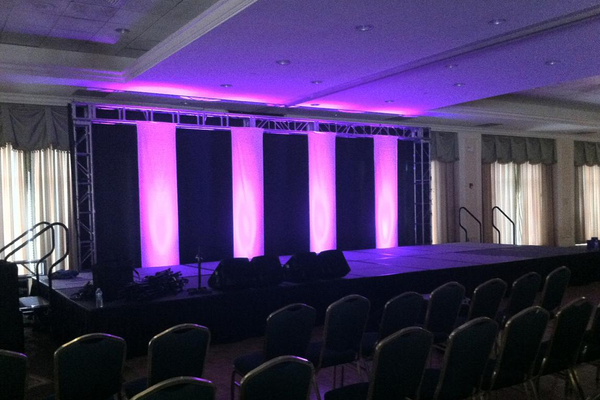 Uplighting, Stage and Truss