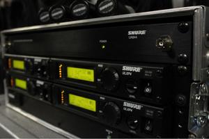 Shure ULX Wireless 4 pack