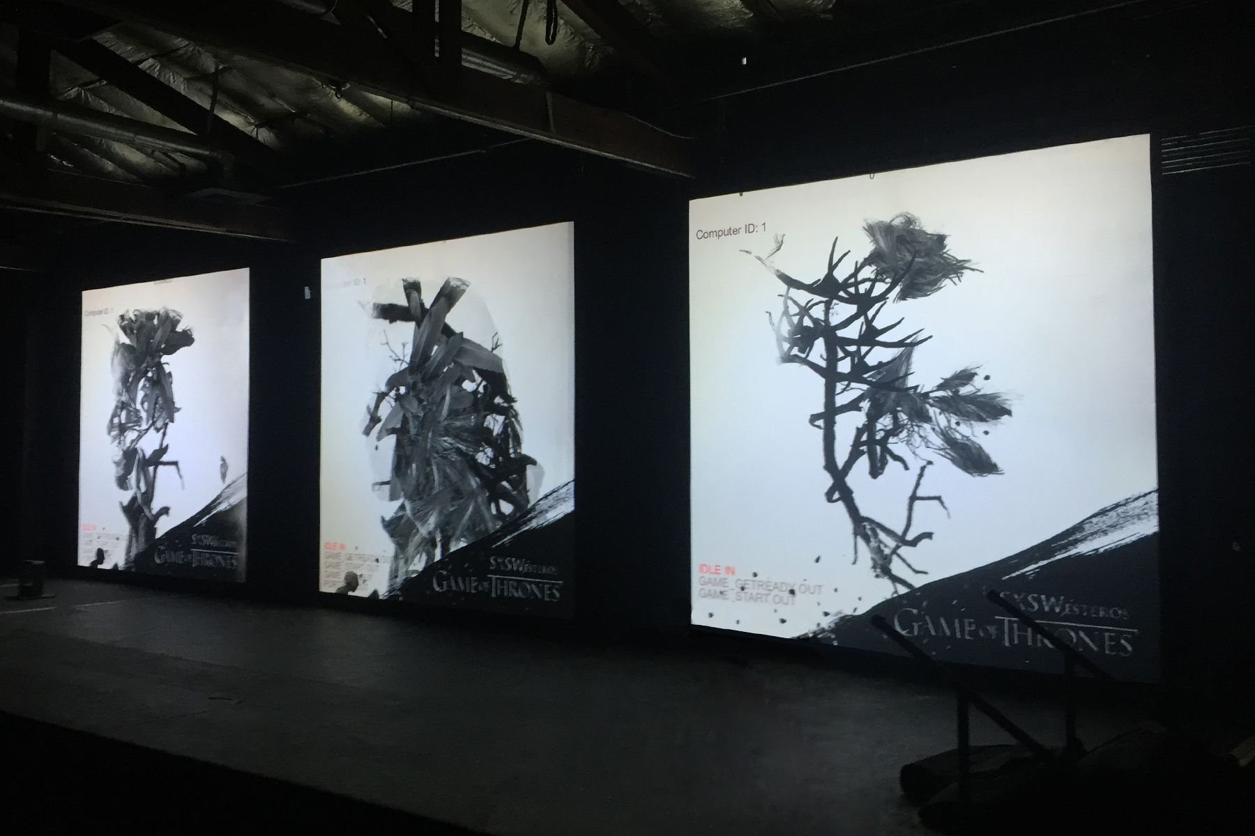 Game of Thrones interactive experience