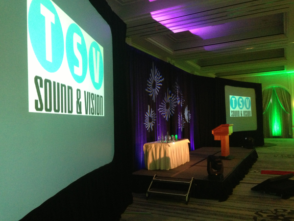 Video Projection and Lighting - Four Seasons Dallas