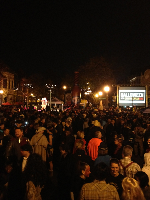 Central West End Halloween Event Production