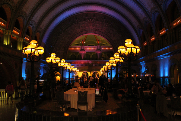 St. Louis Union Station Grand Hall Amazing Lighting