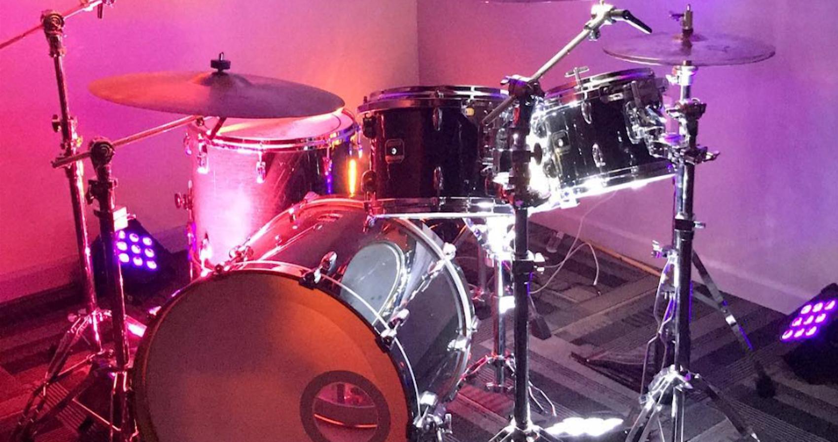 Drum Kit with lighting
