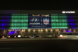 Hyundai Video Mapping
