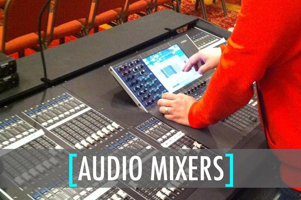 St. Louis Audio Mixer Rental