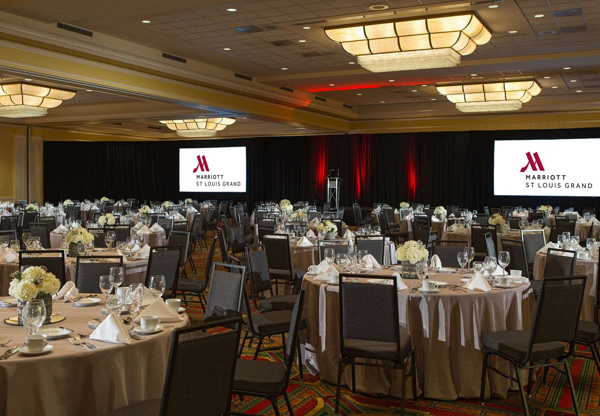 Marriott Grand St Louis Ballroom Setup