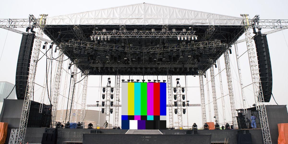 Large Stage Setup