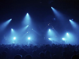 Large Concert Lighting System with Intelligent Lights by TSV Sound & Vision