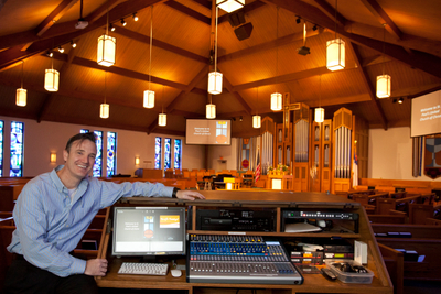 St. Paul's UCC Oakville, MO Video System Installation