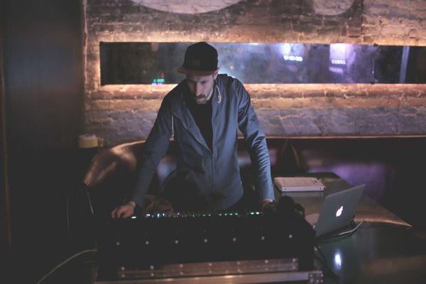 Event Tech at a soundboard