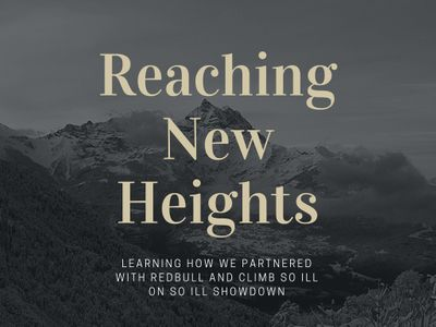 Reaching New Heights Blog Cover