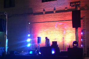 Outdoor Concert Sound and Lighting St. Louis