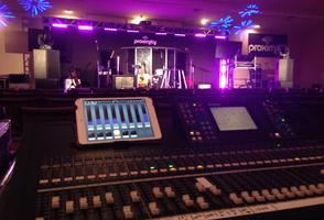 Ballroom Event Concert Sound and Lighting