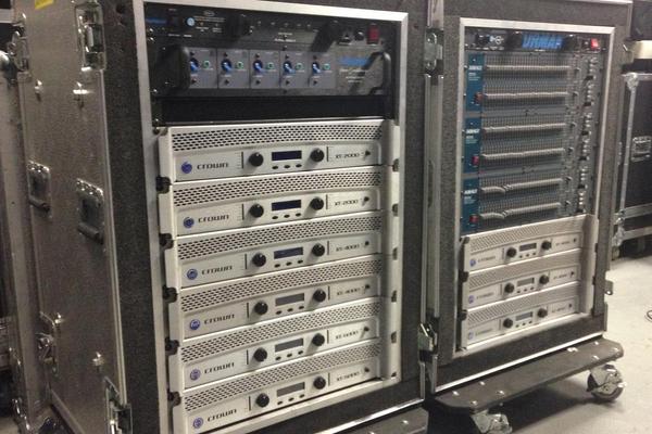 Crown Amplifier Racks