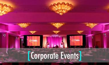 Corporate Event A/V Production