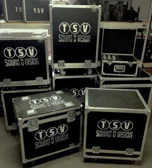 Audio Visual Roadcases