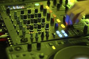 Pioneer DJ Mixer Up-Close