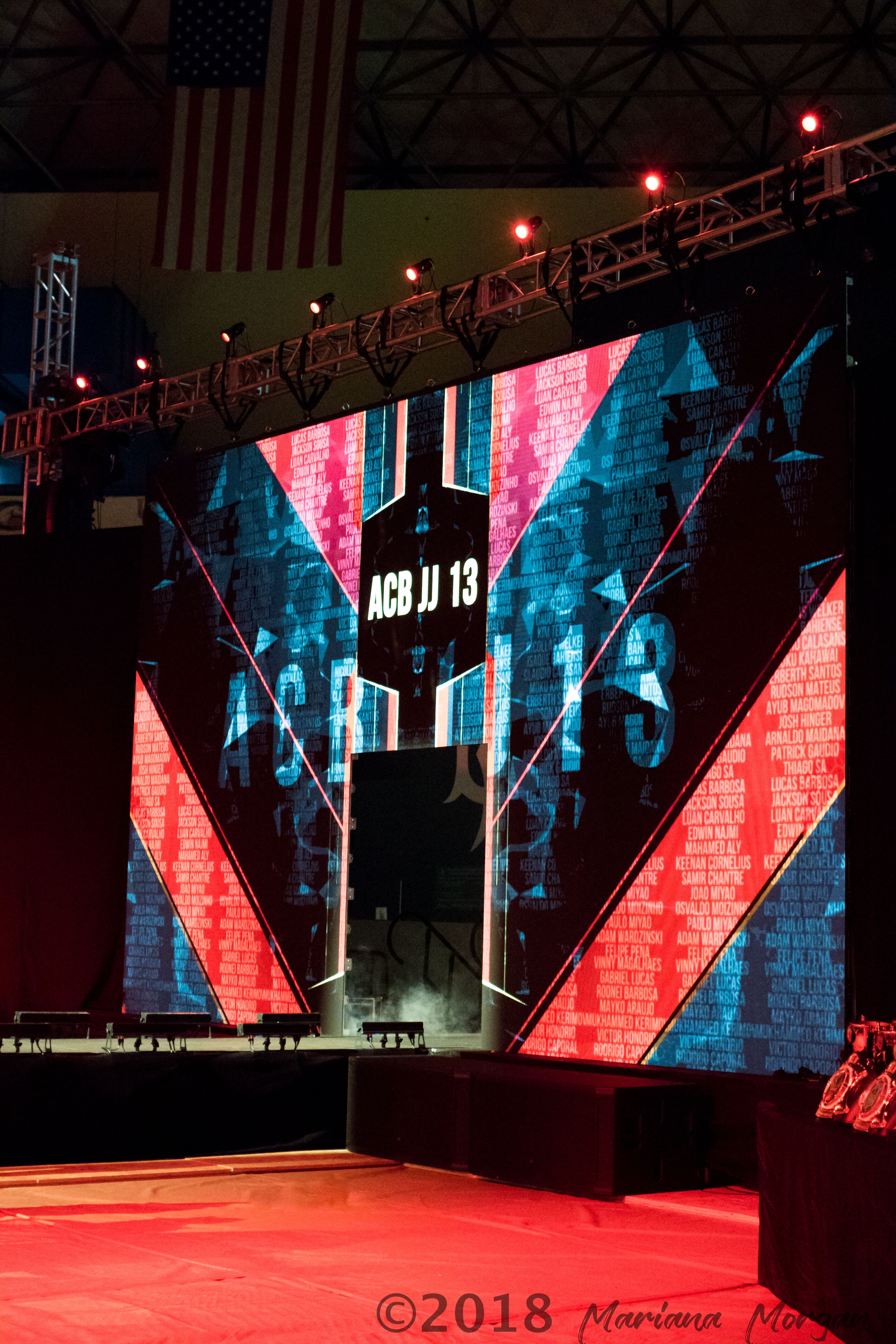 LED Video Wall Display at an Event