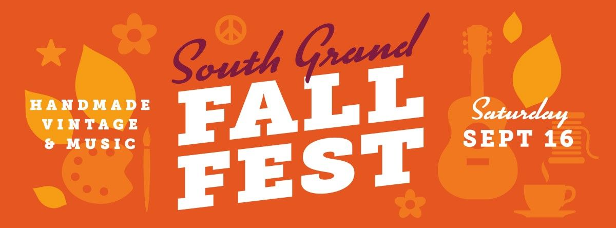 South Grand Fall Fest Flyer