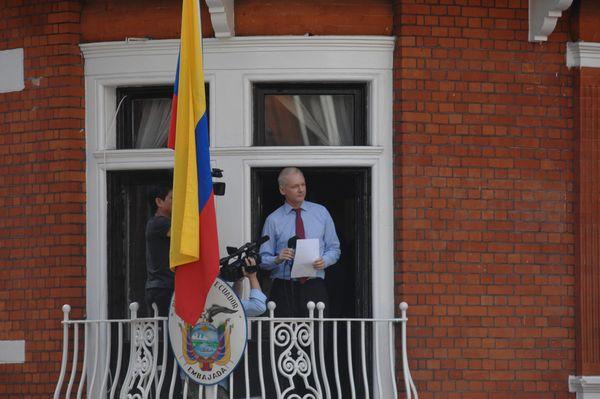 Julian Assange creative commons