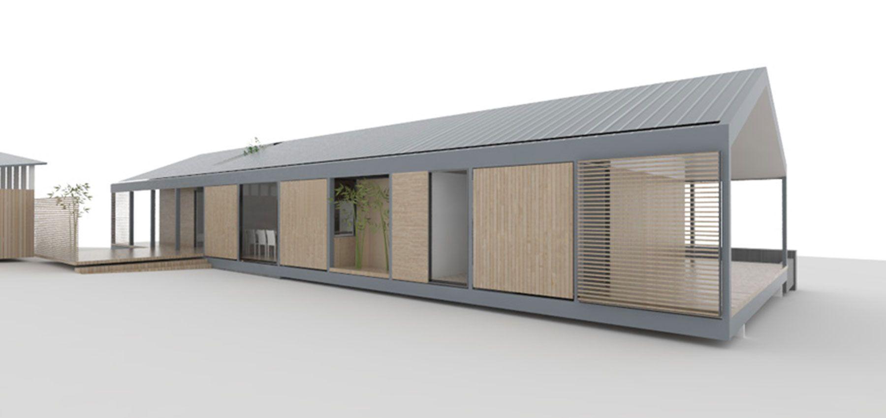 Element house exterior