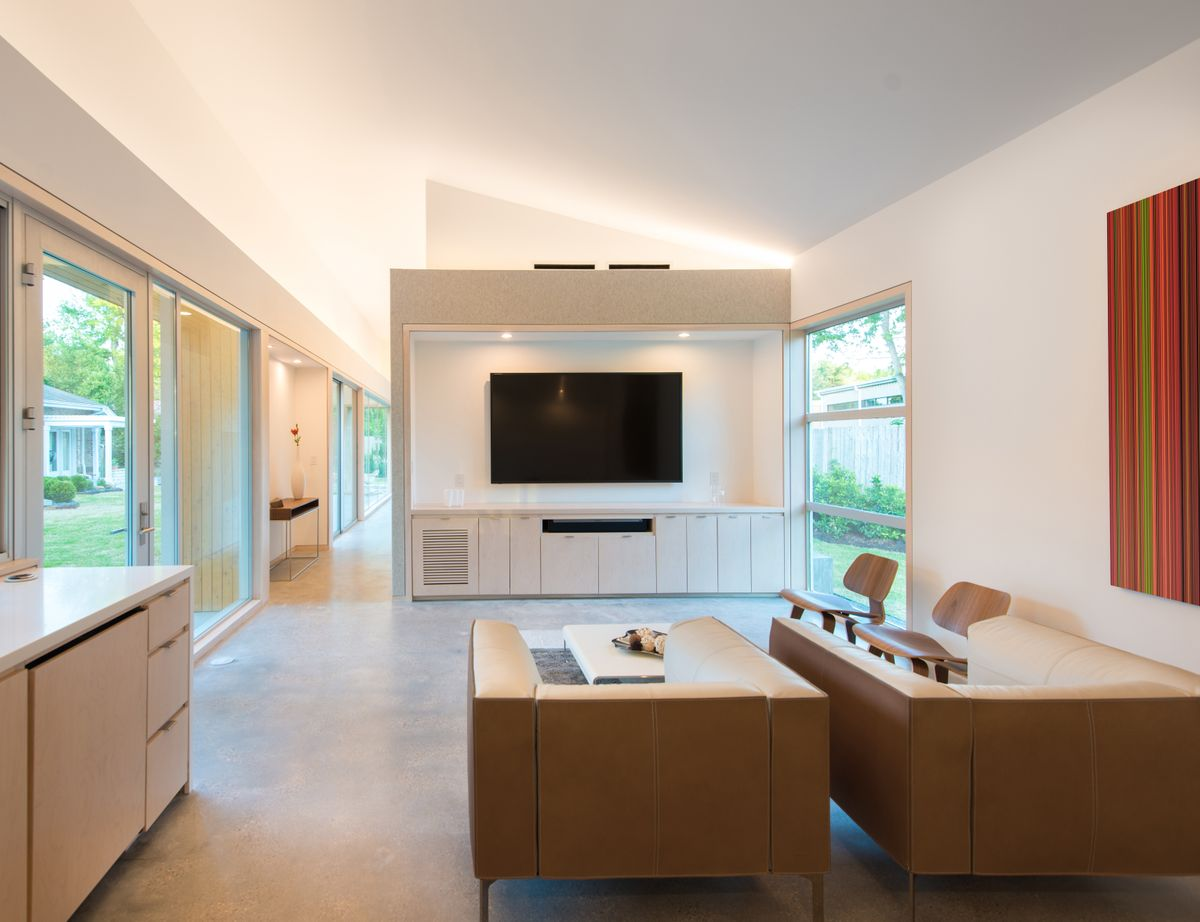 nested house living room