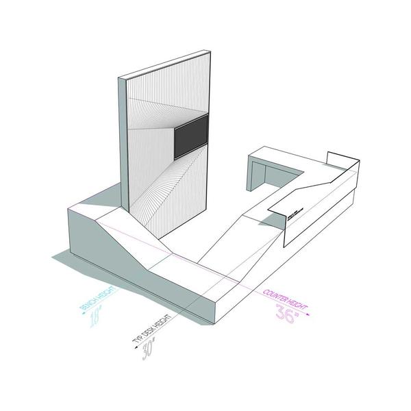 Deskscape desk design
