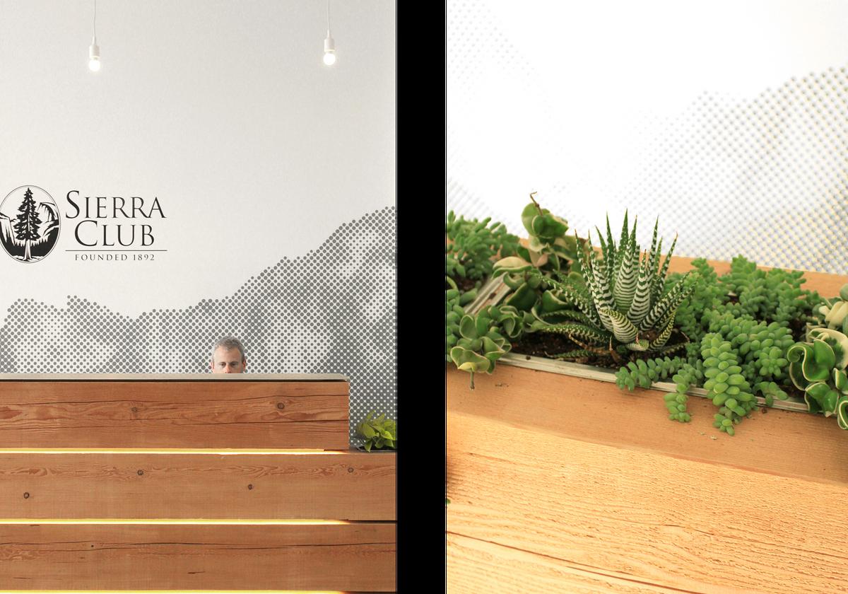 Sierra space front desk